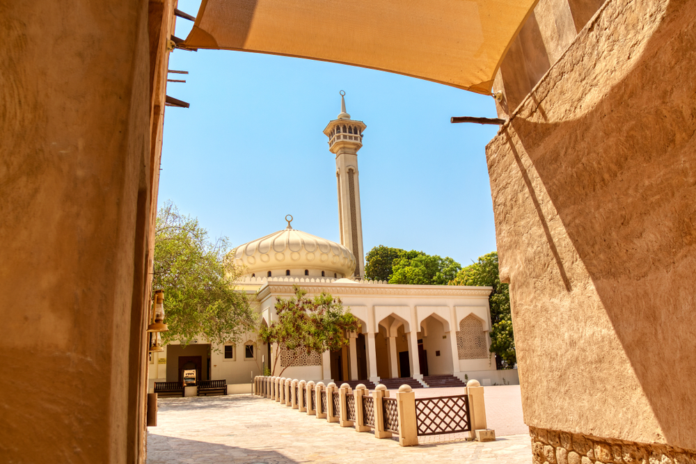 Traditional Street in Old Dubai