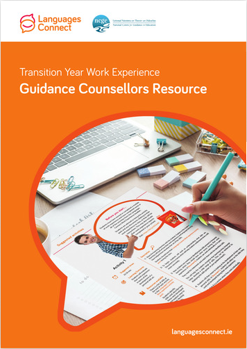Guidance Counsellors Resource TY Work Experience PDF